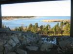 Vaade Maasi ordulinnuselt merele. Foto: Rita Peirumaa, 31.10.2012