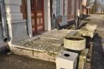 Lagunenud katteplaatidega peatrepp. T. Padu foto 7. nov 2012