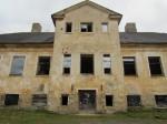 15664 Kihlevere mõisa peahoone, vaade lõunast, detail lõunafassaadist 08.11.2012 Anne Kaldam