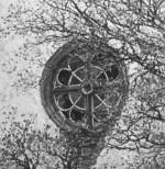 Hanila kiriku roosaken, 1933. a. Läänemaa muuseumi fotokogu