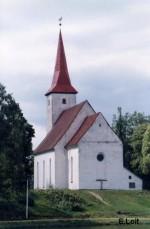 Vaade Suure-Jaani kirikule.