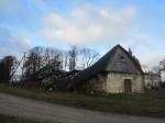 15674 Neeruti mõisa sõiduhobuste tall, vaade lõunast. 27.11.2012 Anne Kaldam