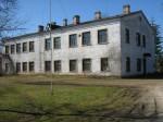Vihula ministeeriumikooli hoone, reg. nr 5792. Vaade põhjast. Foto: I. Raudvassar, kuupäev  24.04.2008