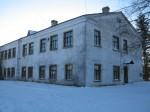 Vihula ministeeriumikooli hoone, reg. nr 5792. Vaade põhjast. Foto: M.Abel, kuupäev 17.01.2013