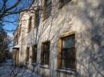 Vihula ministeeriumikooli hoone, reg. nr 5792. Vaade lõunast. Foto: M.Abel, kuupäev 17.01.2013
