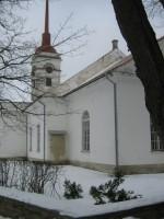 Vaade kirikule. Foto: Rita Peirumaa, 5.03.2013