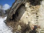 15674 Neeruti mõisa sõiduhobuste tall,vaade lõunast, näha kagupoolne otsasein, pilt: Anne Kaldam, aeg: 07.03.2013