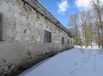 15674 Neeruti mõisa sõiduhobuste tall,vaade idast, näha kirdepoolne ja räästas sein pilt: Anne Kaldam, aeg: 07.03.2013
