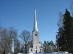 Tarvastu kirik läänest. Foto: Anne Kivi, 21.03.2013