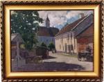 Maal «Kuressaare», A. Jegorov, 1926 (õli, vineer) Foto: Jaanus Heinla 2001