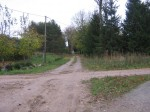 Vaade küla keskel ristmikul idakagusse.  Autor Ulla Kadakas  Kuupäev  14.10.2007