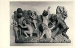 Viimne kohtupäev. Altari pealisel paikneva niši figuur varastati 12. veebruaril 1999 Foto: Boris Mäemets 1964