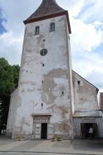 Rakvere kirik, reg. nr. 15732. Vaade Pika tänavalt, läänefassaadile. Foto: M.Abel, kp. 10.06.13