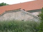 Lihula aida keldri katuseräästas, pooleli.  Kalli Pets 31.07.2013