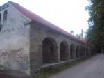 Raikküla mõisa aida esikülg. K. Klandorf 18.09.2013.