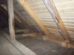 Raikküla mõisa aida restaureeritud katusekonstruktsioonid. K. Klandorf 18.09.2013.