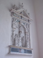 Kärla kirku vana altar. Foto: Rita Peirumaa, 25.10.2013