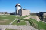 Narva Hermanni linnus. Vaade edelast. Foto: Andres Toode. 10.05.2011.