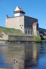 Narva Hermanni linnus. Vaade kagust. Foto: Andres Toode. 10.05.2011.