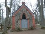 Halliste kalmistu kabel idast Foto Anne Kivi 14.02.2014