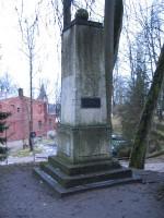 Lossi 15b Morgensterni mälestussammas. Foto Egle Tamm, 18.02.2014.