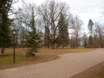 Kärstna mõisa pargi esiväljak Foto Anne Kivi 27.02.2014
