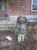 Lõvifiguur eestvaates. Foto: R. Peirumaa. Kuupäev  11.02.2008