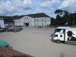 Rakvere mõisa peahoone ja teatrihoone, vaade idast Foto 27.06.2014 Anne Kaldam
