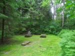 Vaade kalmistu lääneosale.  Foto Silja Konsa 02.07.2014