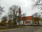 Kiriku lõunakülg. Foto: Rita Peirumaa. 22.10.2014