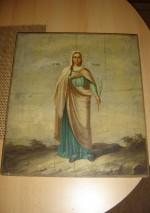 Ikoon Püha Sinaida. Foto: S.Simson 22.11.2006