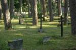 Mõnnuste kalmistu.Foto: Karola Mursu. Kuupäev  16.07.2008