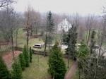 Vaade Torma kiriku tornist kirikuaiale ja pastoraadi peahoonele Foto: Sille Raidvere Aeg: 05.11.2014