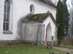 Torma kiriku peasissepääs  Foto: Sille Raidvere Aeg: 05.11.2014