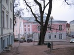 Ülikooli 18 vaade Toomelt. Foto Egle Tamm, 28.02.2014.