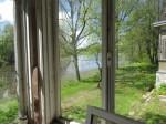 vaade peasaali aknast jõele foto M.Mutso 19.05.15