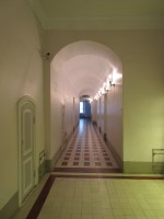 Ülikooli 18 esimese korruse koridor. Foto Egle Tamm, 11.02.2015.