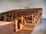 Ülikooli 18 põhjatiiva ajaloolise sisustusega auditoorium. Foto Egle Tamm, 12.09.2011.