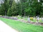Kodavere kalmistu müürid Foto: Sille Raidvere Aeg: 26.08.2015