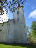 Vaade kiriku tornile. Foto: Keidi Saks, 15.05.2015