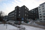 Raviasutuste kompleks Tõnismägi 5. Fassaadid Hariduse tänaval. 04.01.2016. T. Aava