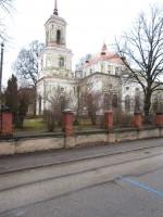Magasini 1a Uspenski kiriku vaade edelast. Foto Egle Tamm, 09.02.2016.