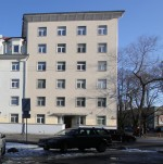 Elamu F.R.Kreutzwaldi t. 19. Vaade Kreutzwaldi tänavalt. 09.03.2016. Foto: Timo Aava