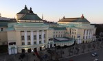 """""""Estonia"""" teatrihoone. Vaade Solarise keskuse katuselt. 15.03.2016. Foto: Timo Aava"""