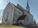 Järva-Madise kirik, vaade kirdest. Foto: K. Klandorf 04.04.2016.