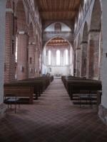 Vaade Jaani kiriku koori suunas. Foto Egle Tamm, 19.04.2016.