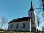Anna kirik, vaade loodest. Foto: K. Klandorf 28.04.2016.