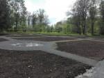 Koigi mõisa park, vaade rajatavale regulaaraiale ja viljapuuaiale. Foto: K. Klandorf 17.05.2016.