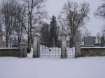 Väike-Maarja kirikuaia piirdemüür :16109, vaade väravatele  Autor Anne Kaldam  Kuupäev  09.01.2008