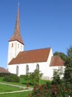 Rakvere kirik :reg. nr.15732, vaade kagust - kirikupargist  Autor Anne Kaldam  Kuupäev  22.09.2008